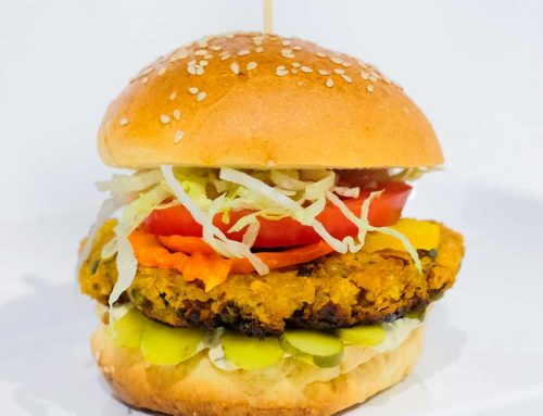 Yellow Pea Veggie Burger