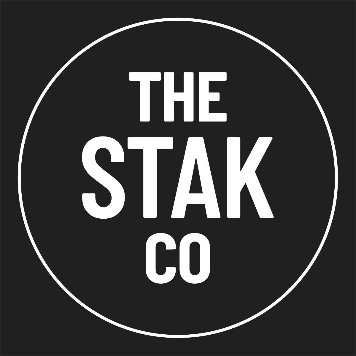 TheStakCo Logo Footer